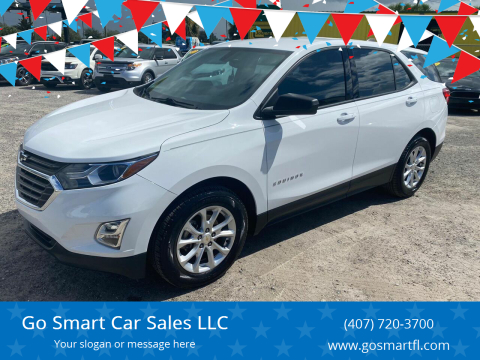 2018 Chevrolet Equinox for sale at Go Smart Car Sales LLC in Winter Garden FL