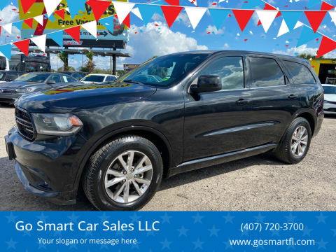 2014 Dodge Durango for sale at Go Smart Car Sales LLC in Winter Garden FL