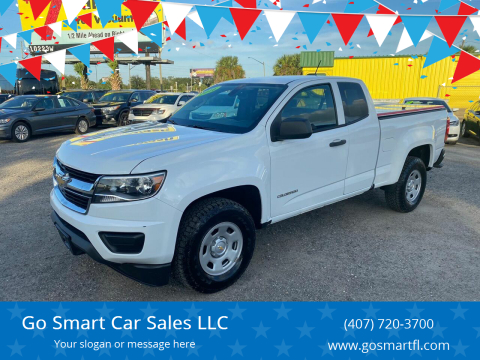 2016 Chevrolet Colorado for sale at Go Smart Car Sales LLC in Winter Garden FL