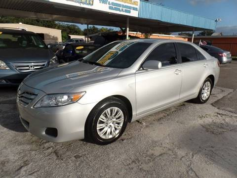 2010 Toyota Camry for sale at Go Smart Car Sales LLC in Winter Garden FL