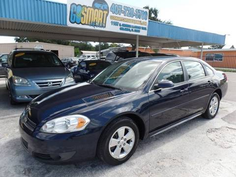 2011 Chevrolet Impala for sale at Go Smart Car Sales LLC in Winter Garden FL