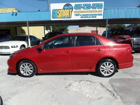 2009 Toyota Corolla for sale at Go Smart Car Sales LLC in Winter Garden FL
