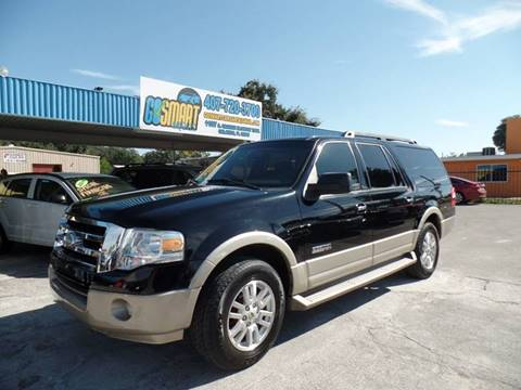 2007 Ford Expedition EL for sale at Go Smart Car Sales LLC in Winter Garden FL