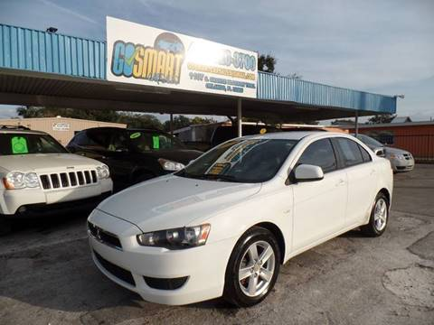 2008 Mitsubishi Lancer for sale at Go Smart Car Sales LLC in Winter Garden FL
