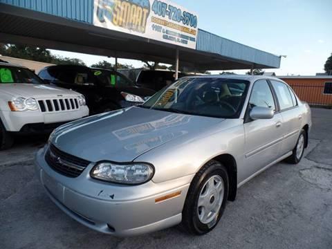 2001 Chevrolet Malibu for sale at Go Smart Car Sales LLC in Winter Garden FL