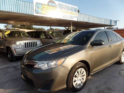 2012 Toyota Camry for sale at Go Smart Car Sales LLC in Winter Garden FL