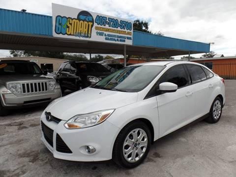 2012 Ford Focus for sale at Go Smart Car Sales LLC in Winter Garden FL