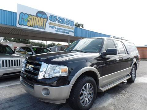 2009 Ford Expedition EL for sale at Go Smart Car Sales LLC in Winter Garden FL