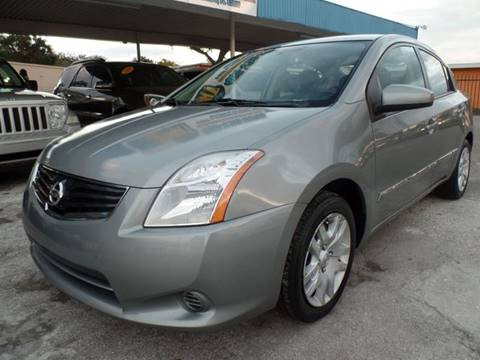 2012 Nissan Sentra for sale at Go Smart Car Sales LLC in Winter Garden FL