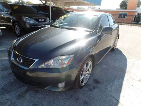 2007 Lexus IS 250 for sale at Go Smart Car Sales LLC in Winter Garden FL
