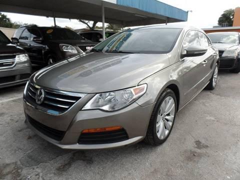2012 Volkswagen CC for sale at Go Smart Car Sales LLC in Winter Garden FL