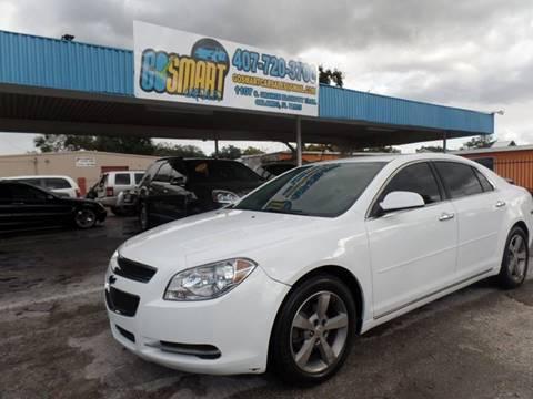 2012 Chevrolet Malibu for sale at Go Smart Car Sales LLC in Winter Garden FL