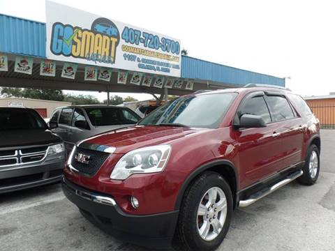 2011 GMC Acadia for sale at Go Smart Car Sales LLC in Winter Garden FL
