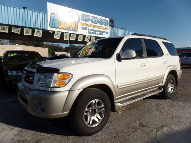 2004 toyota sequoia sr5 4dr suv in winter garden fl go smart car 2005 Toyota Sequoia SR5 Blue 2004 toyota sequoia sr5 4dr suv winter garden fl