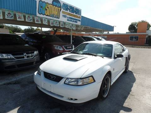 1999 Ford Mustang for sale at Go Smart Car Sales LLC in Winter Garden FL