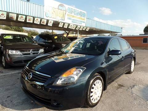 2007 Nissan Altima for sale at Go Smart Car Sales LLC in Winter Garden FL