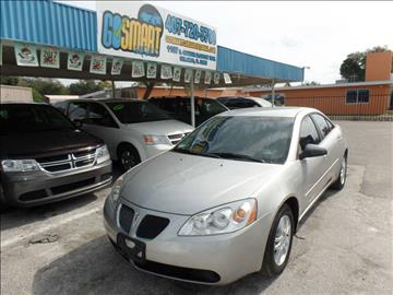 2005 Pontiac G6 for sale at Go Smart Car Sales LLC in Winter Garden FL