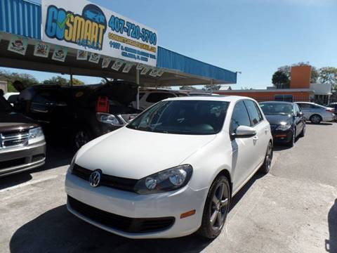2010 Volkswagen Golf for sale at Go Smart Car Sales LLC in Winter Garden FL
