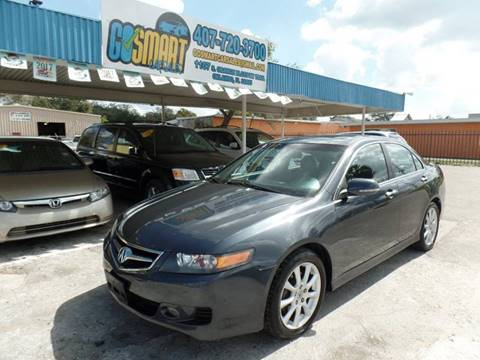 2007 Acura TSX for sale at Go Smart Car Sales LLC in Winter Garden FL