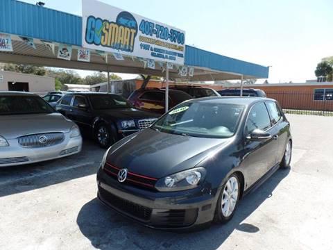 2010 Volkswagen GTI for sale at Go Smart Car Sales LLC in Winter Garden FL