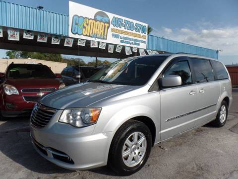 2012 Chrysler Town and Country for sale at Go Smart Car Sales LLC in Winter Garden FL