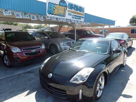 2007 Nissan 350Z for sale at Go Smart Car Sales LLC in Winter Garden FL