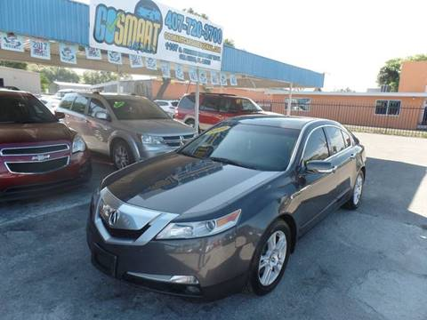 2009 Acura TL for sale at Go Smart Car Sales LLC in Winter Garden FL