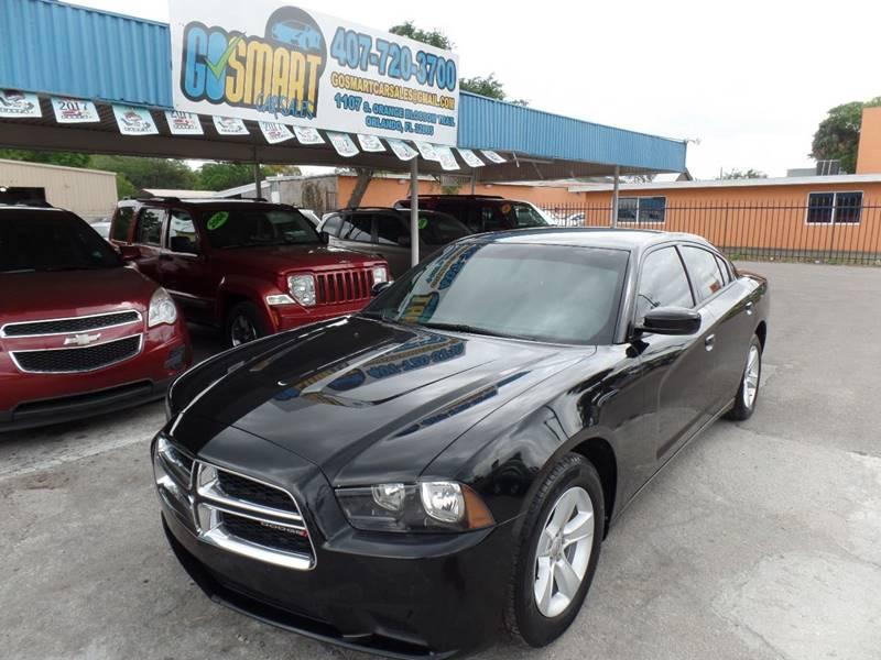 2012 Dodge Charger for sale at Go Smart Car Sales LLC in Winter Garden FL