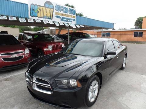 2012 Dodge Charger for sale at Go Smart Car Sales LLC in Winter Garden FL