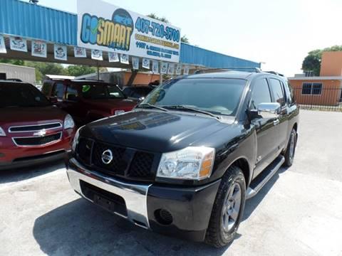2005 Nissan Armada for sale at Go Smart Car Sales LLC in Winter Garden FL