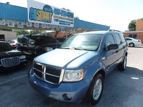 2007 Dodge Durango for sale at Go Smart Car Sales LLC in Winter Garden FL