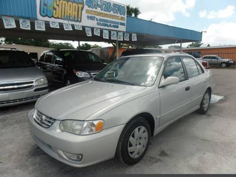 2001 Toyota Corolla for sale at Go Smart Car Sales LLC in Winter Garden FL