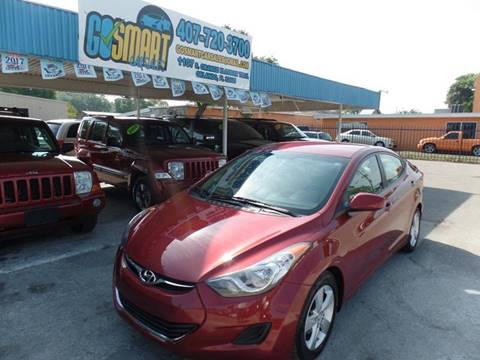 2013 Hyundai Elantra for sale at Go Smart Car Sales LLC in Winter Garden FL