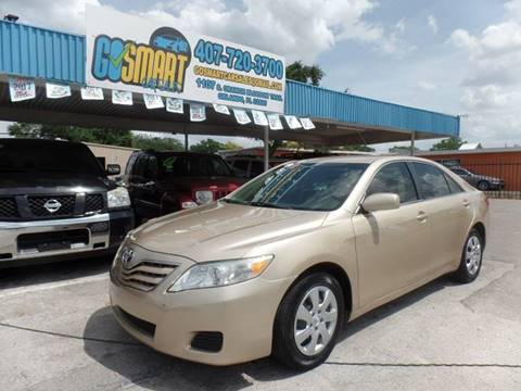 2011 Toyota Camry for sale at Go Smart Car Sales LLC in Winter Garden FL