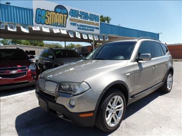 2008 BMW X3 for sale at Go Smart Car Sales LLC in Winter Garden FL