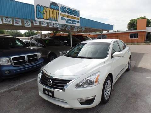 2015 Nissan Altima for sale at Go Smart Car Sales LLC in Winter Garden FL