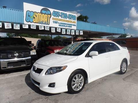 2010 Toyota Corolla for sale at Go Smart Car Sales LLC in Winter Garden FL