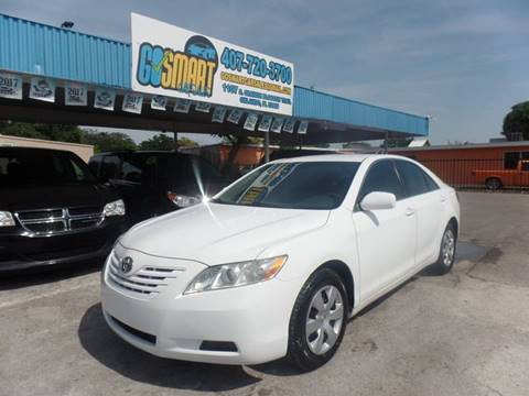 2008 Toyota Camry for sale at Go Smart Car Sales LLC in Winter Garden FL
