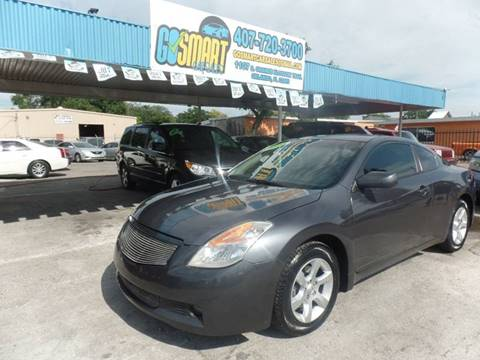 2008 Nissan Altima for sale at Go Smart Car Sales LLC in Winter Garden FL