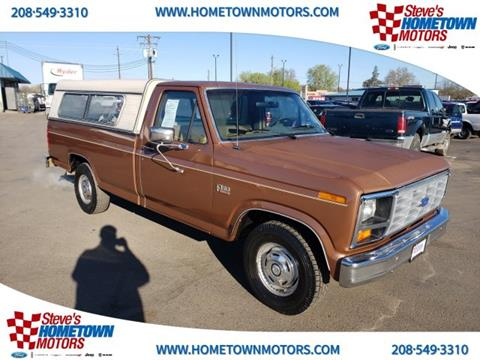 1986 Ford F-150 for sale in Weiser, ID