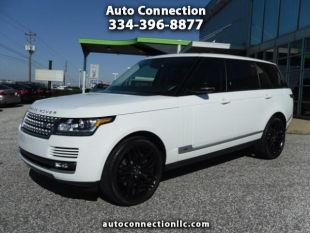 2015 Land Rover Range Rover for sale at AUTO CONNECTION LLC in Montgomery AL