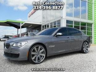 2013 BMW 7 Series for sale at AUTO CONNECTION LLC in Montgomery AL