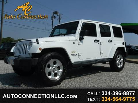 2015 Jeep Wrangler Unlimited for sale in Montgomery, AL