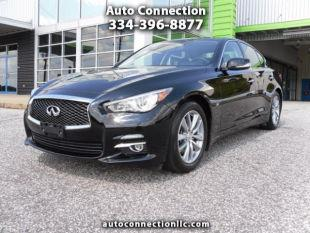 2014 Infiniti Q50 for sale at AUTO CONNECTION LLC in Montgomery AL