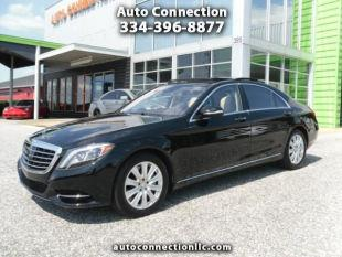 2014 Mercedes-Benz S-Class for sale at AUTO CONNECTION LLC in Montgomery AL