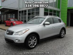 2013 Infiniti EX37 for sale at AUTO CONNECTION LLC in Montgomery AL