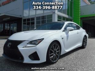 2015 Lexus RC F for sale at AUTO CONNECTION LLC in Montgomery AL