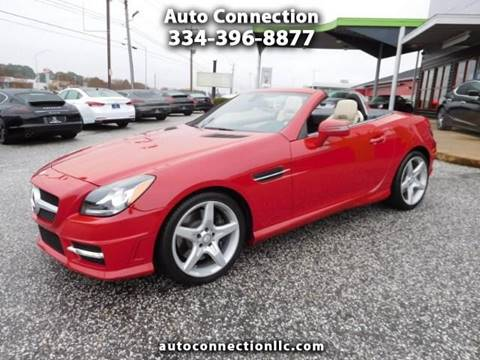 2012 Mercedes-Benz SLK for sale at AUTO CONNECTION LLC in Montgomery AL