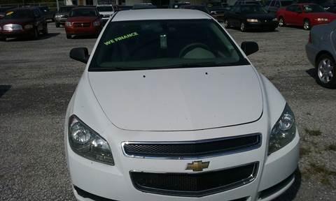 2012 Chevrolet Malibu for sale in Baldwyn, MS