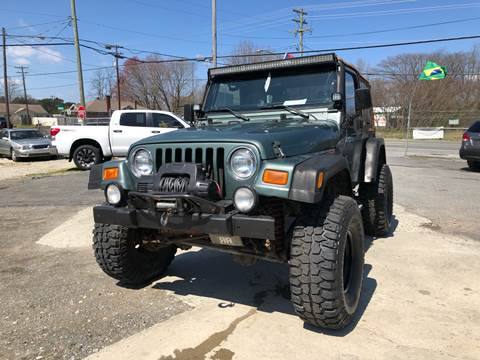 2000 Jeep Wrangler for sale in Greensboro, NC